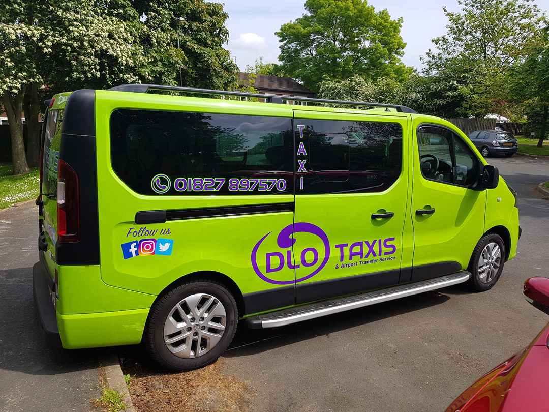 DLO Taxis Tamworth UK Image 1